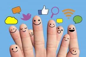 promote companies with social networks facebook and twitter